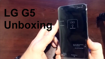 LGG5Unboxing